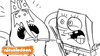 """SpongeBob Meets The Ice King"" Animatic   Nick Animation"
