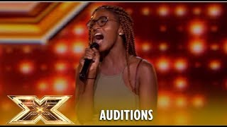 Lanya Matthews: She´s Only 17 But When She Opens Her Mouth...😱OMG! | The X Factor UK 2018