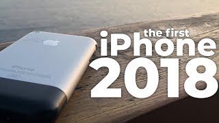 Using the first iPhone in 2018 - Review