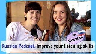 Russian Conversations 20. Listen to Russian Podcast! 🎧 Meet Tatiana Klimova