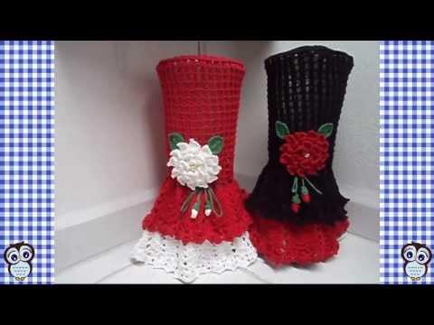 Juegos De Licuadora Tejidos A Crochet Y Adornos De Cocina