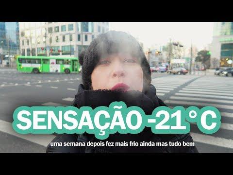O DIA MAIS FRIO DO INTERCÂMBIO