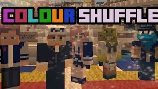 COLOUR SHUFFLE | Minecraft Mini Game | With Friends