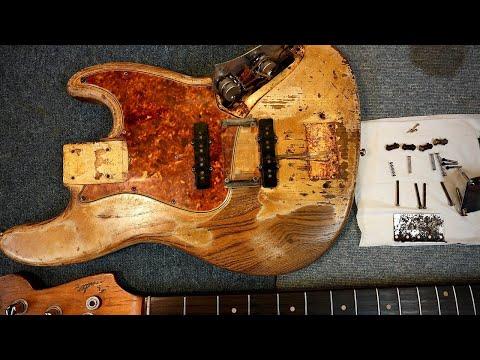 【分解&磨き】fender vintage 1961 jazz bass