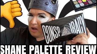 SHANE DAWSON CONSPIRACY PALETTE REVIEW JEFFREE STAR COSMETICS