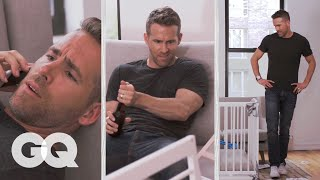 Watch Ryan Reynolds Try to Build an IKEA Crib