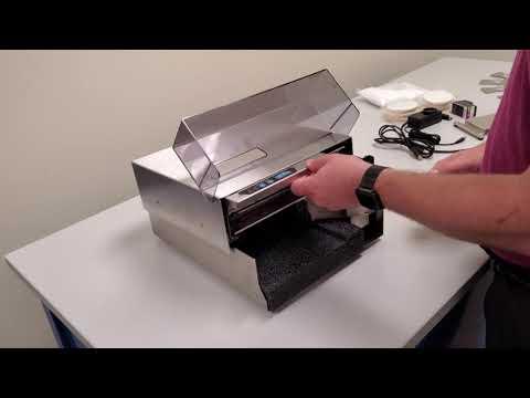 Primera Eddie the Edible Ink Printer Initial Setup
