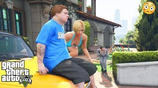 GTA 5 - Michael Caught TRACEY AND JIMMY (dirty secret scene)