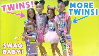THE CUTEST TWINS MEETUP EVER!
