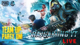 PUBG Mobile  Season 8 Funny Gameplay & Custom Rooms MAtch  Tamil 🔴Live Streaming | RajGamingYt | RG