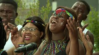"Zolani Youth Choir Performs ""Nkosi Sikelela i Africa (God Bless Africa)"""