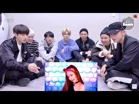 BTS REACTIONS TO BOOMBAYAH
