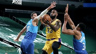 LeBron 34 Points Clutch Deep 3 vs Bucks! 2020-21 NBA Season