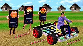 మ్యాజికల్ ఫోన్ Magical Phone Car Telugu Comedy Stories New Animated Stories In Telugu Jabili Kathalu