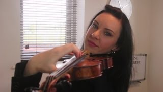 HOW TO: Reach for the Higher Positions on the VIOLIN
