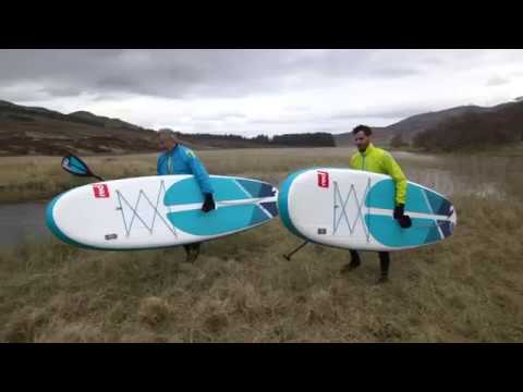 """Red Paddle Co 9'6"""" Compact Stand Up Paddle Board"""