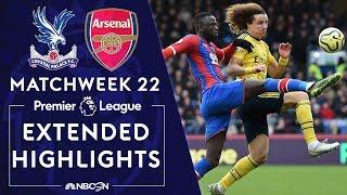 Crystal Palace v. Arsenal | PREMIER LEAGUE HIGHLIGHTS | 1/11/2020 | NBC Sports