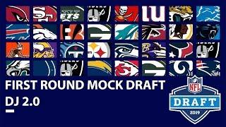 Full 1st Round 2019 Mock Draft Updated Post Combine: DJ 2.0