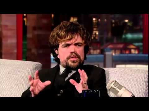 Peter Dinklage David Letterman 2014 03 26 HQ - YouTube