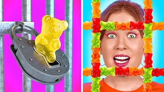 HOW TO SNEAK FOOD ANYWHERE    Funny and Weird Ways to Become Popular by 123 GO!