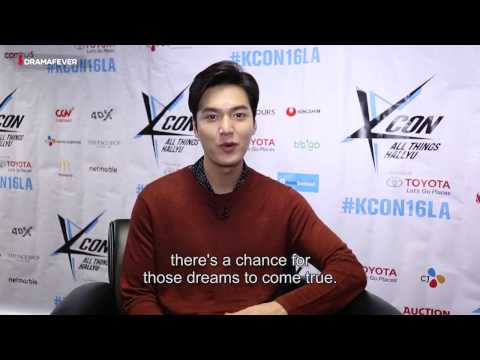 【KCON LA 2016】LEE MIN HO Exclusive Full Interview with DramaFever