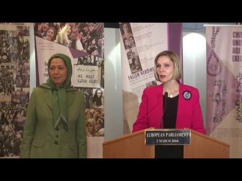 expressed support for Iranian women resistors struggling against government oppression
