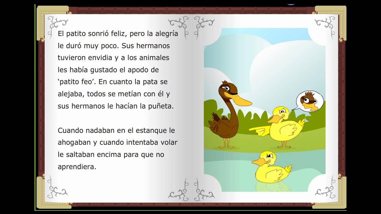 EL patito feo, Cuentos clásicos infantiles en español