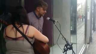 Random Guy Joins In with Busker AMAZING!!!