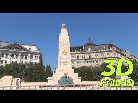 [3DHD] Liberty Square / Szabadság tér / Plac Wolności, Budapest, Hungary / Magyarország / Węgry