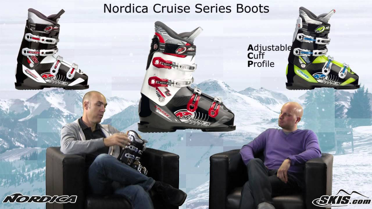 2013 Nordica Cruise Series Boots Review By Skis Com Youtube