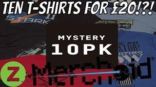 Mystery Geek T-Shirt - 10-Pack, Geek Christmas Jumper. Mystery Gift