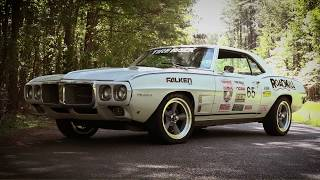 Finnegan's Garage Ep.48: '69 Pontiac Firebird Tire Smoke With Fully Functional Taillights!