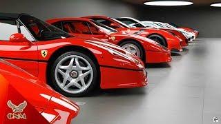 Bộ Sưu tập siêu xe Ferrari hoành tráng nhất thế giới