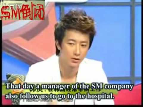 Han Geng talks about SM ENERTAINMENT'S violation on human rights BY宁.flv