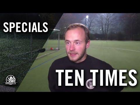 Ten Times mit Jakob Vehn (Berliner SV 92) | SPREEKICK.TV