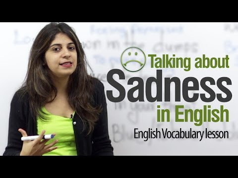 Talking About Sadness In English -- Free English Lessons - Smashpipe Film