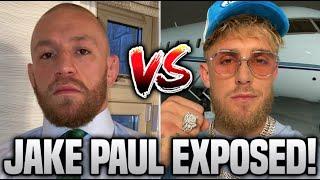 Conor McGregor MAKES FUN of Jake Paul EXPOSING Him!