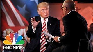 Donald Trump Participates in Commander-In-Chief Forum (Full) | NBC News