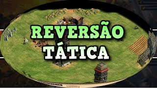Age of Empires 2 HD Reversão Tática AoE2HD Gameplay PT BR