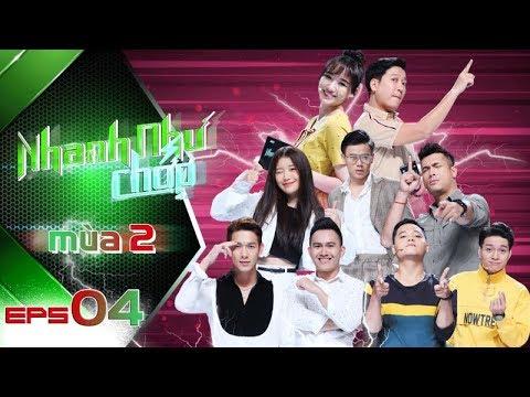 Nhanh Như Chớp Mùa 2| Tập 04 Full HD: Hari Won-Trường Giang Bị Han Sara-Con Hoài Linh Dập Tan Nát