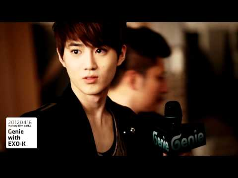 EXO-K_AR SHOW with Genie_Making film part 1