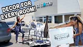 $350 NEW HOME DECOR HAUL | At Home & Roses!