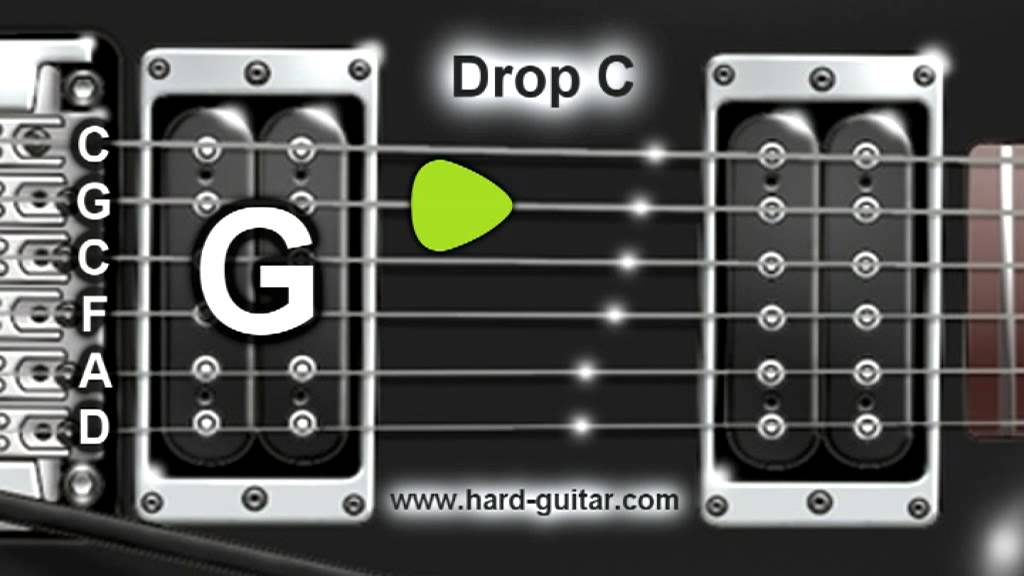 drop c guitar tuner c g c f a d tuning youtube