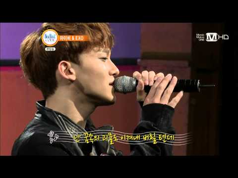 EXO 첸 (CHEN) - HUG (동방신기 곡) @130701 Mnet 비틀즈 코드