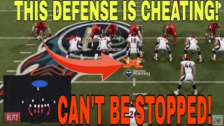 GLITCH DEFENSE!!! MOST OVERPOWERED *NEW* BLITZ in Madden 20! INSTANT NANO that stops any Run or Pass