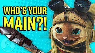 What Your Monster Hunter Weapon Says About You!   The Leaderboard