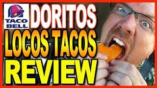 Taco Bell Doritos Locos Taco Big Bell Box Meal Review