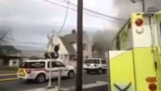 Nazareth fire at Pizza Joe's Oct. 29, 2014