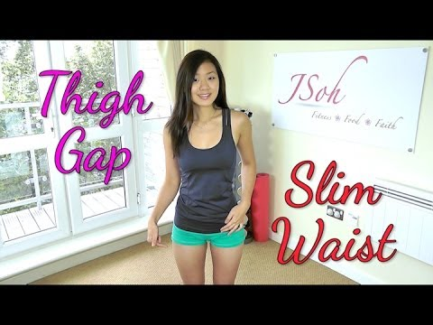 Inner Thigh Gap & Slim Waist Workout (Do This!) - Smashpipe Style