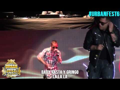 BABY RASTA Y GRINGO URBAN FEST 6 PARTE 1